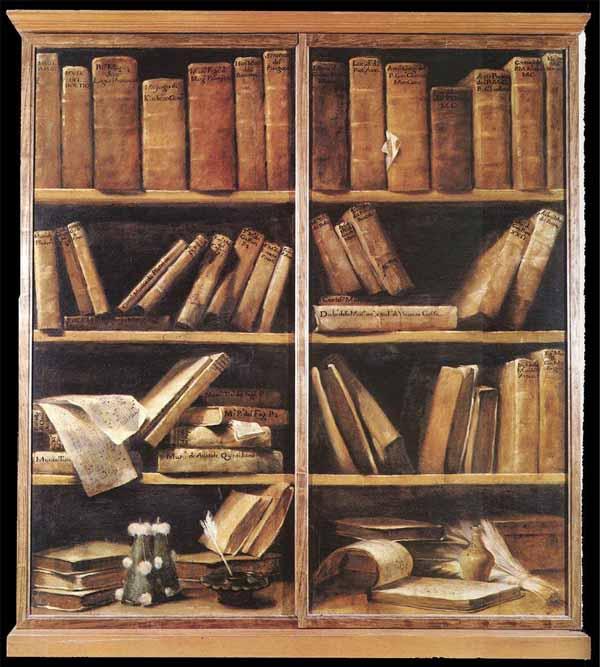 Guiseppe Crespi Bookshelves