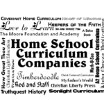 Good Books From Home School Curriculum Companies