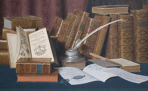 L._Block_-_The_Bibliophile's_Desk