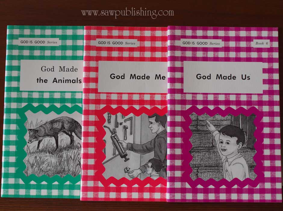 God is Good Books 4-6