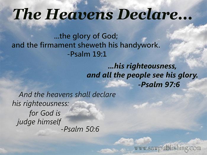 The Heaven's Declare