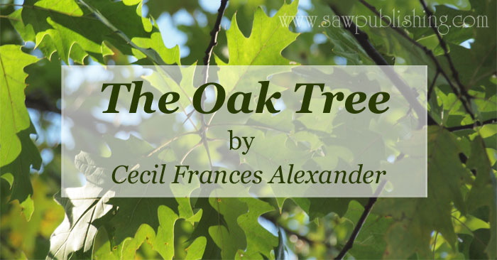 The Oak Tree by Cecil Frances Alexander
