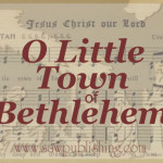 This Christmas take a second look at the classic Christmas hymn O Little Town of Bethlehem. You might be surprised to see that it is one of the best hymns ever written.