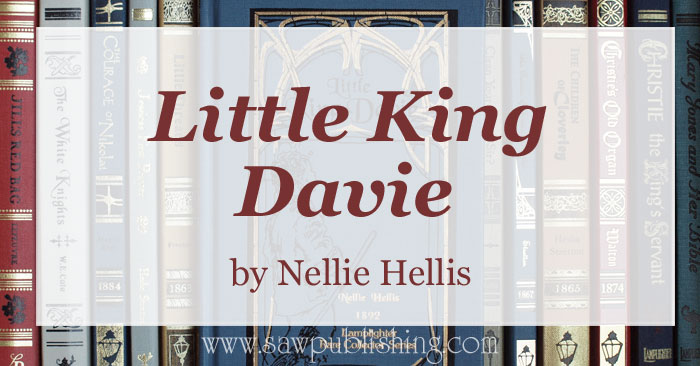 "Little King Davie, a charming story, seems to be geared to children at first glance, but the truths explored are ones that we all need to ponder as we join Davie in seeking to be ""faithful in the least"" - Luke 16:10."