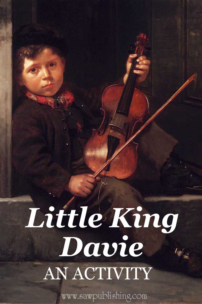 Want to bring God glory through music, just as King David did in the Bible? Use this Little King Davie homeschool activity to do get started.