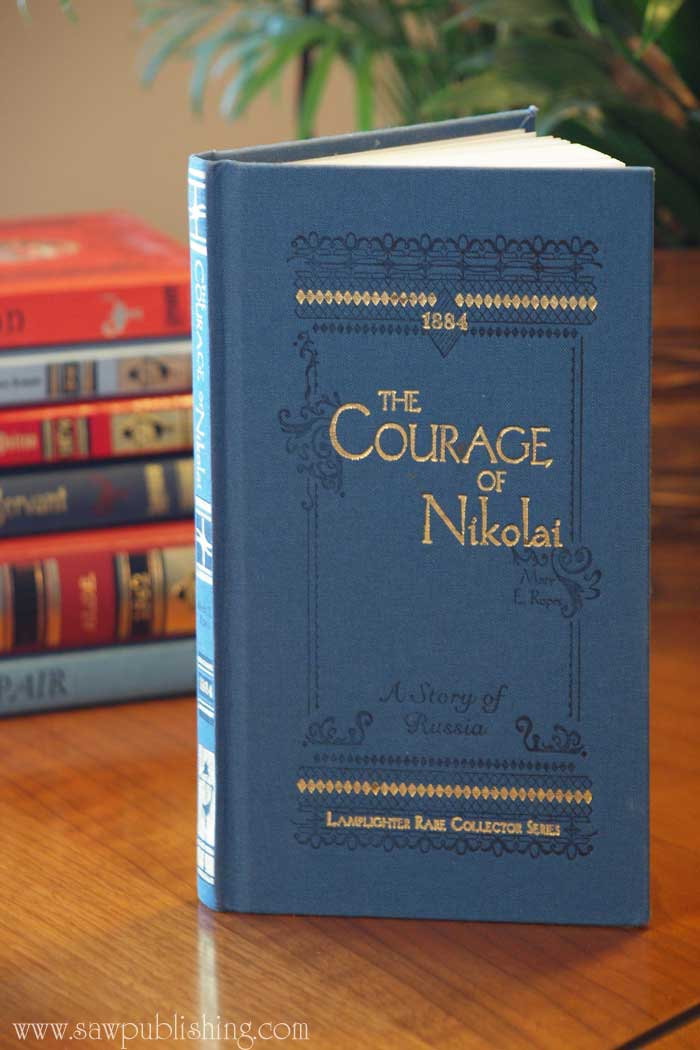 An injured stranger, runaway horses, and a pack of hungry wolves set the stage for adventure in The Courage of Nikolai, a story of pre-revolutionary Russia. Read my book review for more details.