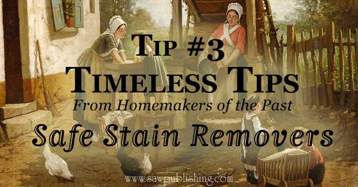 Are you bewildered by the many options for taking out stains? Here are some Timeless Tips for choosing safe stain removers according to your fabric type.