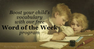 Boost Your Child's Vocabulary