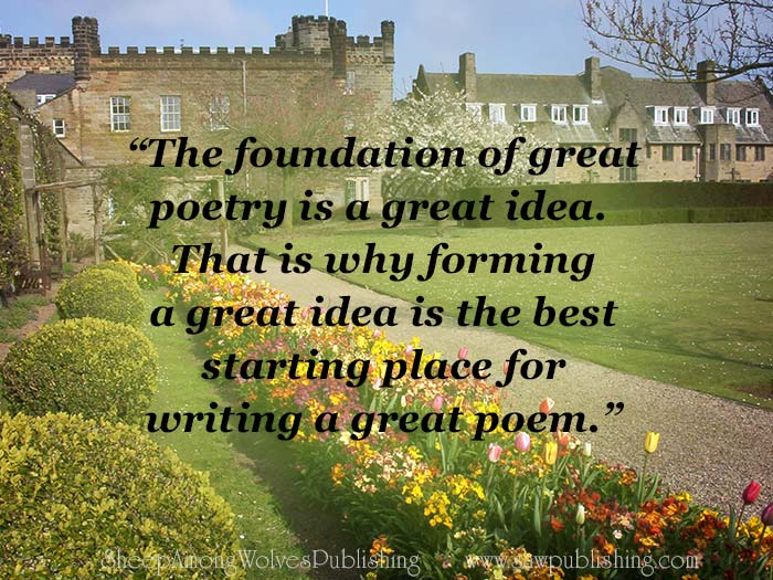 An easy tip for finding your thesis statement is to think of why you want to write the poem in the first place.