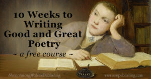 Are you looking for a Christian course that will teach your high school student to write poetry? Check out our FREE 10 Weeks to Writing Good and Great Poetry.