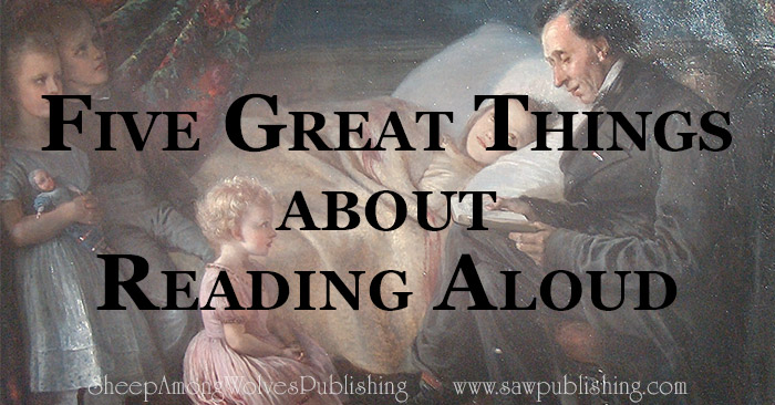 Reading aloud isn't hard. You can do it! Find a godly, worthwhile book, and start today!