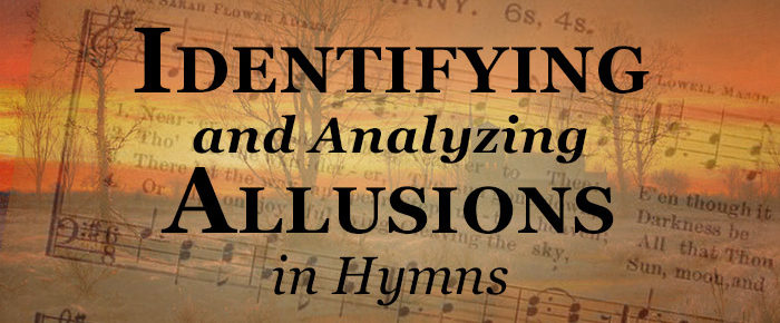 Identifying and Analyzing Hymn Allusions