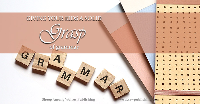 : How do you pick an English program that will ensure your students end up with a solid grasp of grammar? Far from depending on definitions or analysis, the best English foundation comes from the conversations your children hear and the books they read.