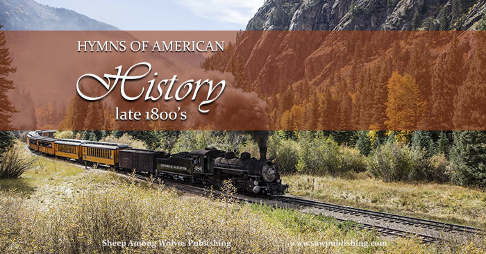 Hymns are a great supplemental tool to bring American history to life. This post takes a look at the late 1800's, and the hymn To God be the Glory.