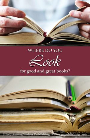 Where do you look for good and great books? Well-written, Christ-centred literature isn't always easy to locate, but it really does exist! SAW Publishing seeks to provide an interactive forum for sharing resources in the quest for worthwhile reading material.
