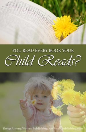 Just how much involvement should a parent have in their child's literature? Should you read every book your child reads? What will be the impact, for eternity?