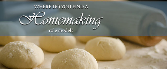 Where Do You Find a Homemaking Role Model?
