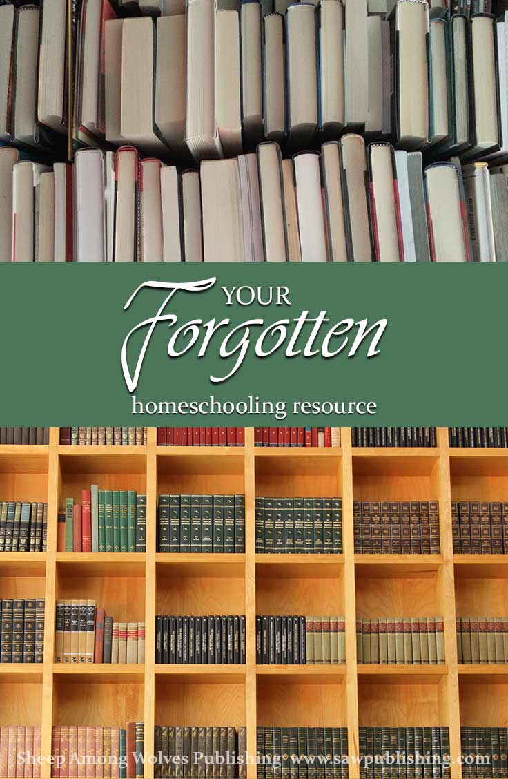 You've put hours of time and energy into your homeschooling curriculum, but your students just might be learning the most from your forgotten homeschooling resource: the books you already have on your shelves.
