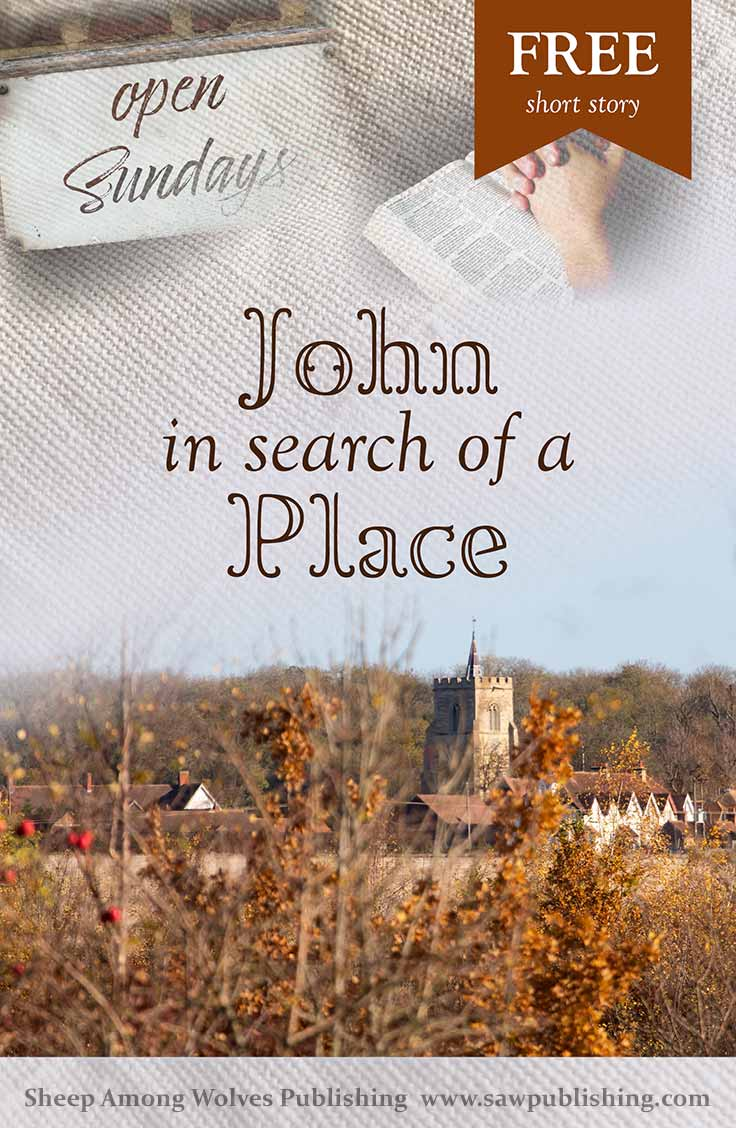 """I have been all over town, and no one would take me,"" John tells his widowed mother in this FREE short story. Has he made the right choice in trusting the Lord, no matter what?"