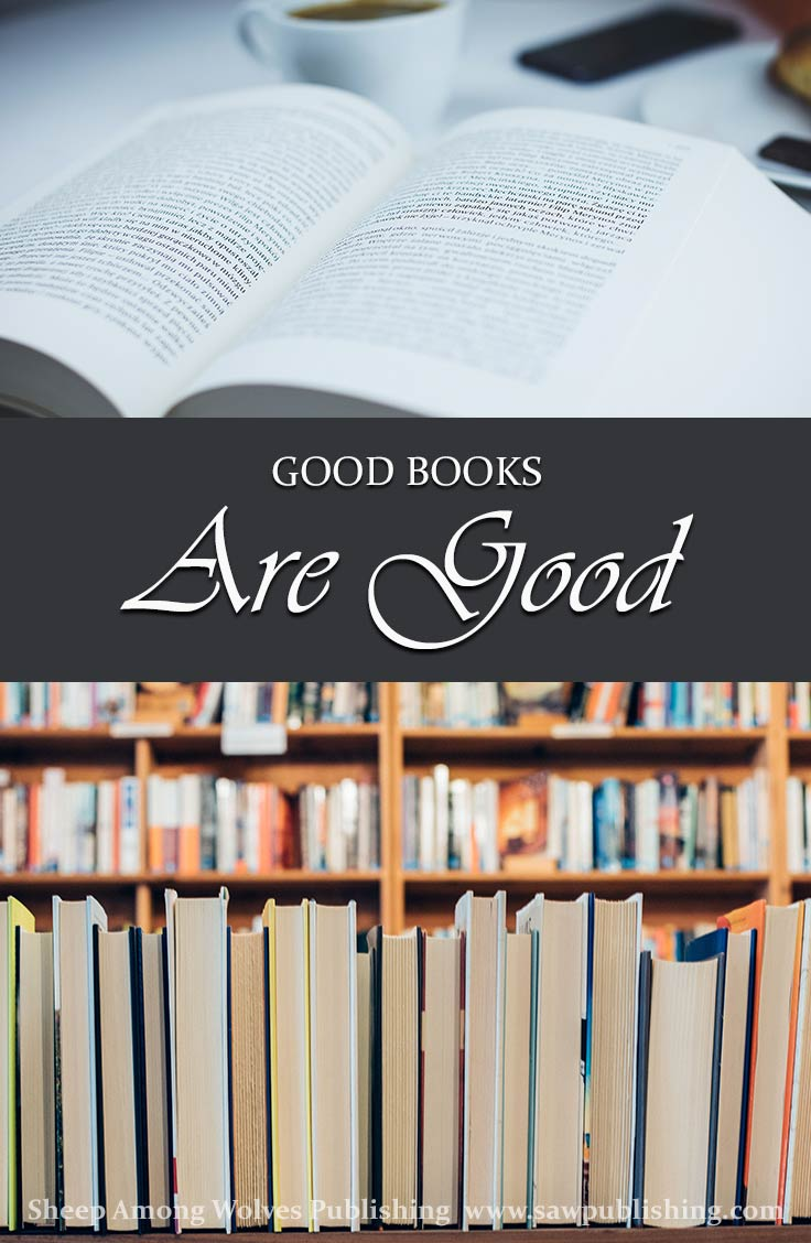 Exactly who do you mean when you talk about good books? Can a book be good without being GOOD? And will it effect the books you choose to read?