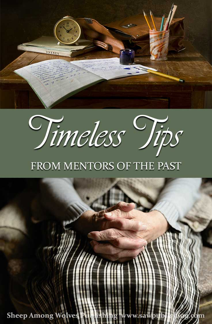 Do you ever feel the longing for a mentor to guide and encourage you as you strive to fill the role of a godly wife and mother? Timeless Tips from Mentors of the Past is the resource you have been looking for!