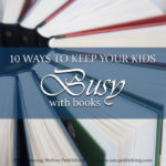 Are you struggling to keep your kids busy at home? Here are 10 creative book projects that will keep them entertained—without requiring you to read aloud!