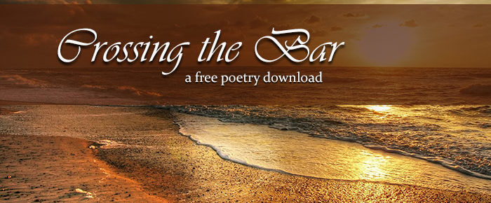 Crossing the Bar: A FREE Poetry Download from SAW Publishing