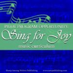 Music is an integral part of our Christian heritage. SCMC's Sing for Joy curriculum offers an intriguing opportunity to give your students a sound musical foundation that they can use for the glory of God.