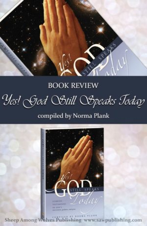 Have you ever wondered if God still speaks today? And if He does, if He speaks to weak, struggling people like you and me? Yes! God Still Speaks Today is a powerful account that highlights God's hand in the ordinary and small as well as the extraordinary and big events of our lives.