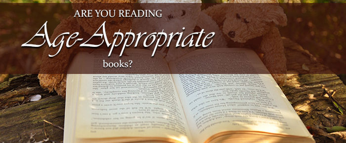 Are You Reading Age-Appropriate Books?