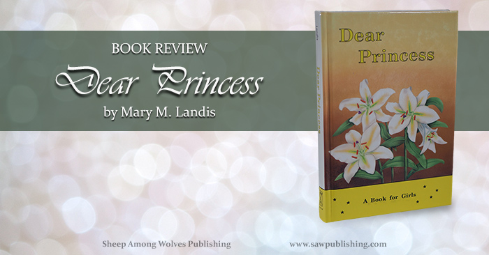 What would you write to your daughters if you weren't sure whether you would still be around when they hit their teen years? Dear Princess, by Mary M. Landis, is the outcome of that question, addressing many of the temptations and transformations that make those teen years so critical.