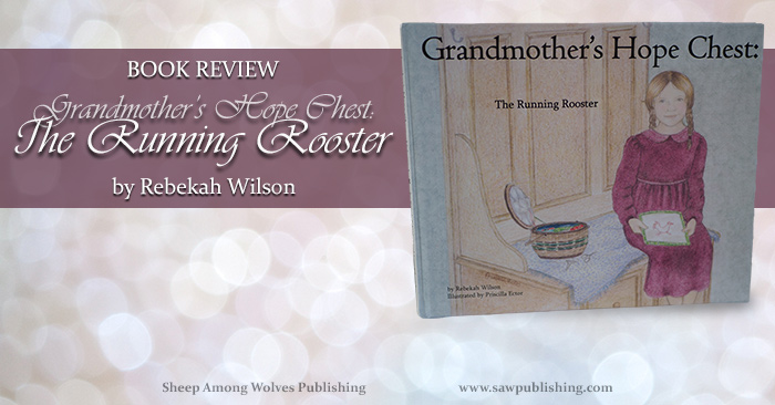 Want to teach your girls to sew but don't know where to start? The Running Rooster, the first book in the Grandmother's Hope Chest series, contains simple instructions that will enable you to teach your child the basics of hand sewing—even if you have no prior sewing experience.