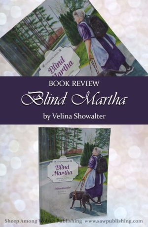 Do you enjoy stories about seeing eye dogs? Blind Martha by Velina Showalter is a story that will introduce children to the struggles of a vision-impaired girl, blindness, seeing eye dogs, how much a person's attitude really does define their circumstances, and ultimately how God can send Light into darkness.