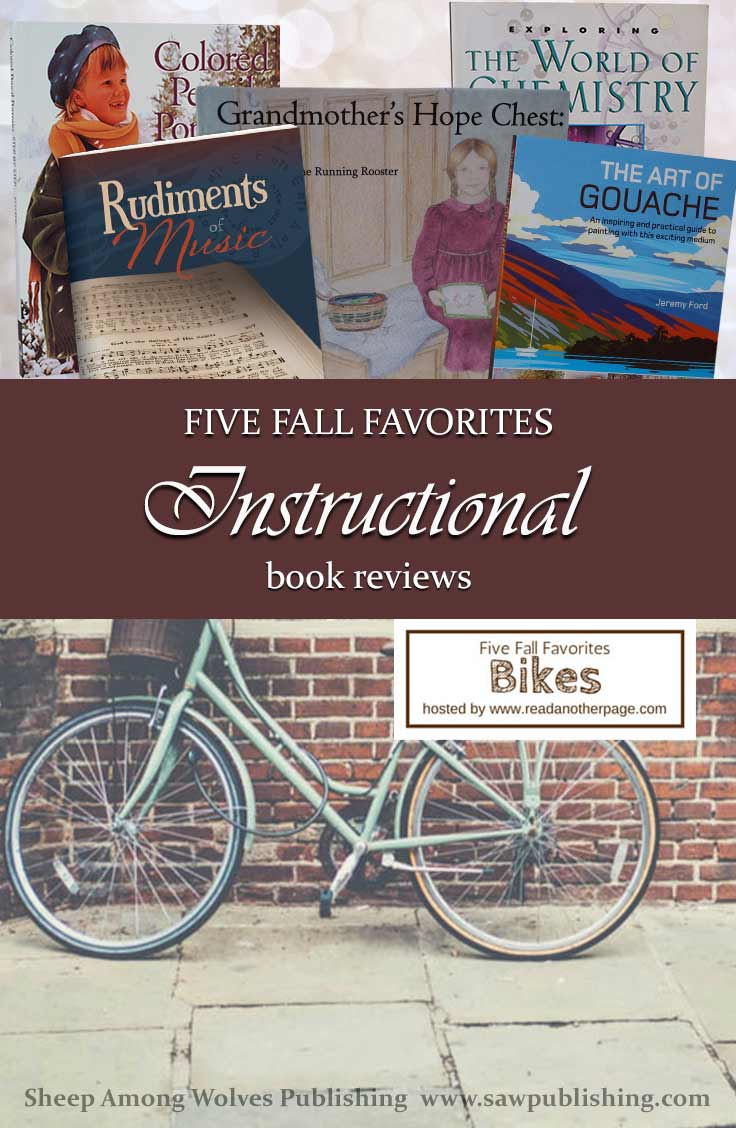 Today we're taking a little bike ride to explore our five favorites in a very practical category—instructional books.