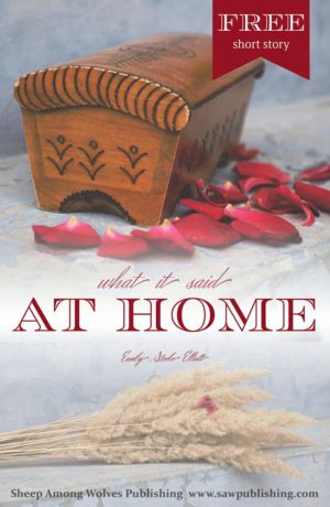 "If you enjoy Christian fiction with a sound message, conveyed with a unique twist, then ""What It Said at Home"" is a story for you."