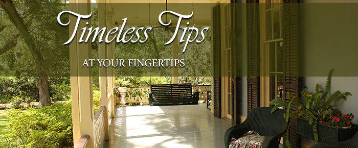 Timeless Tips at Your Fingertips