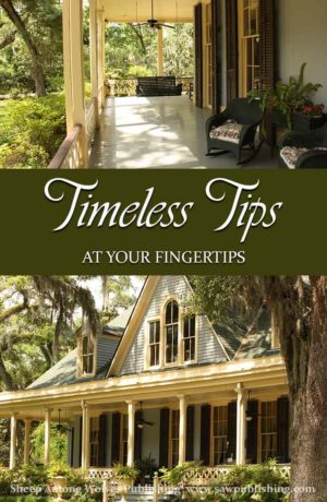 For the past five years, SAW Publishing has been compiling Timeless Tips from the generations of homemakers and educators who have gone before us. Explore the entire Timeless Tips collection with the new, complete index.