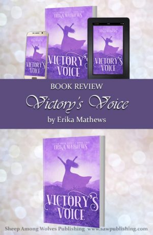 How important are the words we speak? Victory's Voice, by Erika Mathews, is the story of a girl who finds out the hard way how important words really are and how to use the power of victory's voice—for good instead of evil.