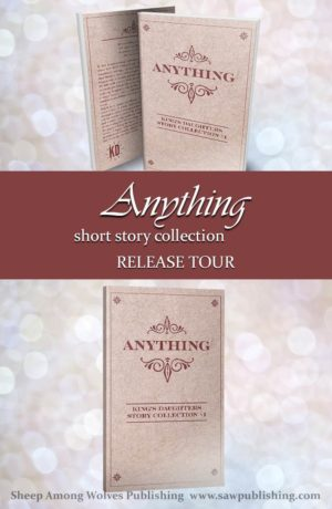 """In this heartwarming collection, thirteen Christian authors weave tales of warmth, hope and encouragement, echoing the theme of """"anything"""" from a refreshing variety of angles."""